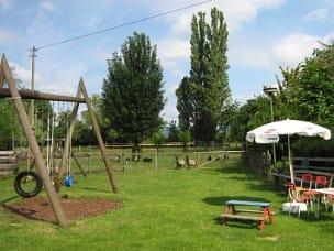 Lässt Kinderherzen höher schlagen, der tolle Spielplatz
