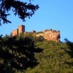Der Blick auf den Trifels bei Annweiler