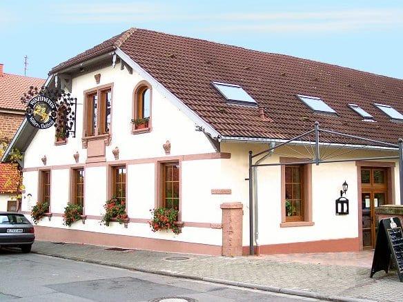 """Gaststätte """"Ritterstube"""" in Sankt Martin in der Pfalz"""