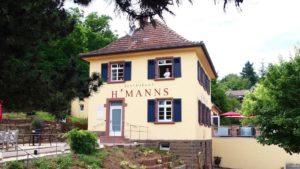 H'Manns Restaurant in Neuleiningen, ausgezeichnete Frischeküche