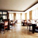 """Gastraum im Restaurant """"Molino"""" im Hotel """"Zur Linde"""" in Silz"""