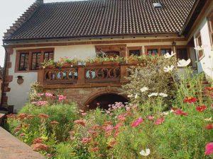 """Gästehaus """"Chalet Raabe"""" in Sankt Martin in der Pfalz"""