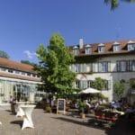 Steiftsgut Keysermühle mit Slowfood-Restaurant Freiraum ind Klingenmünster