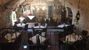 """Restaurant&Weinlokal """"Barrique-Gewölbe"""" in Sankt Martin"""