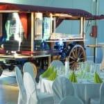 """Feiern im Restaurant """"Weindorf """" im TECHNIK MUSEUM SPEYER"""