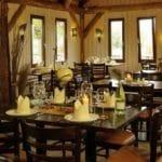 Restaurant Farmhaus auf der Straußenfarm Mhou in Rülzheim in der Pfalz