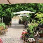 Restaurant / Weinstube Honigsäckel mit herrlichem Hofgarten