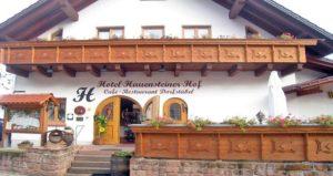 """Hotel """"Hauensteiner Hof"""", Café-Restaurant """"Dorfstübel"""""""