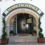"""Restaurant, Hotel """"Marktschänke in Bad Dürkheim."""