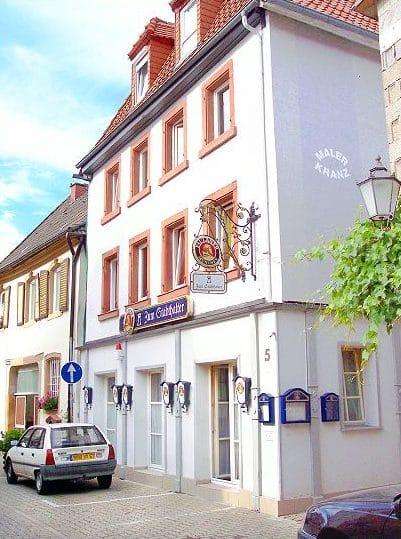"""Bistro """"Zum Stadthalter"""" in Bad Bergzabern in der Pfalz"""