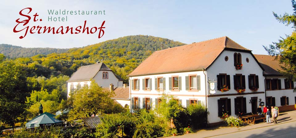 """Hotel, Restaurant, Biergarten """"Sankt Germanshof"""""""