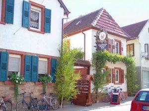 """Weinstube, Weingut, Destillerie """"Wolf"""" in Edesheim in der Pfal"""