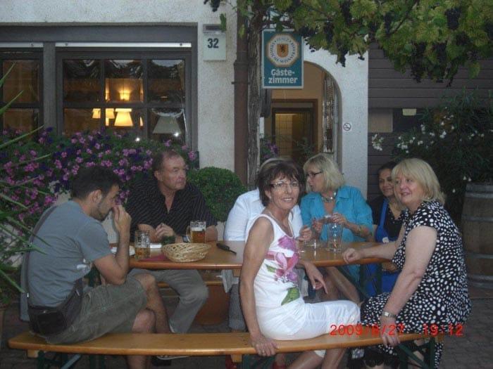 Dorfstübl bier und weinstube albersweiler www pfalz info