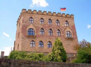 """""""Hambacher Schloss"""" in Neustadt - Hambach in der Pfalz"""
