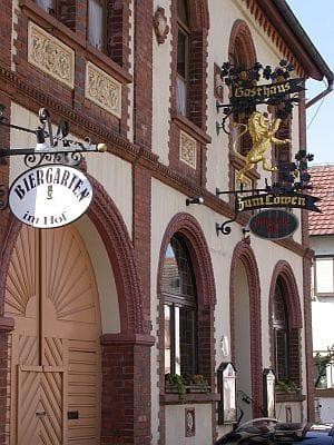 """Gasthaus """"Zum Löwen"""" in Altdorf in der Pfalz"""