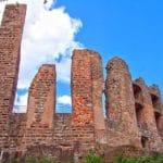 Die Ruine Ramburg bei Ramberg in der Pfalz