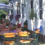 """Terrasse """"Zum Waldhaus"""" in Hochstadt in der Pfalz – der Grieche im Ort"""