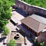 Burghof Burg Landeck