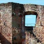 Burgmauer Burgruine Landeck