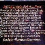 Landeckverein Burg LAndeck in Klingenmünster in der Pfalz