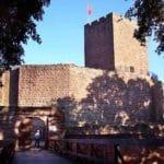Burgruine Landeck über Klingenmünster in der Pfalz