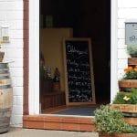 Weinrestaurant, Terrasse