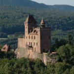 """""""Burg Berwartstein"""" bei Erlenbach in der Pfalz. Gastronomie & Übernachten"""