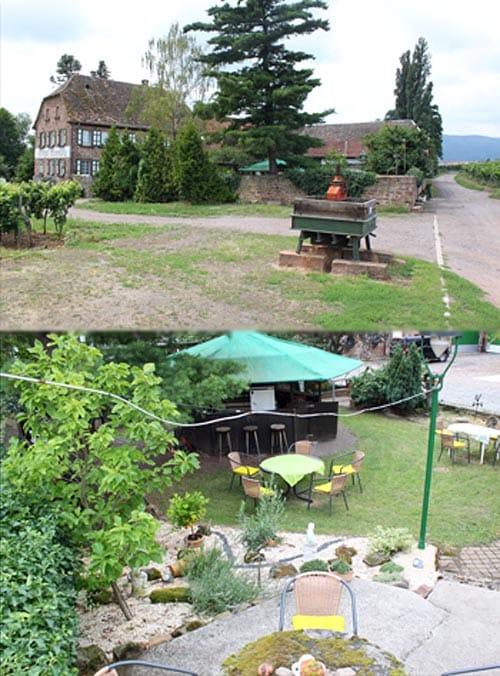 Weingut, Weinstube, Brennerei Erlenmühle in Edesheim in der Pfalz
