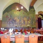 Burgschänke, Rittersaal auf Burg Berwartstein bei Erlenbach