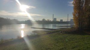 Blick nach Karlsruhe, Wörth am Rhein