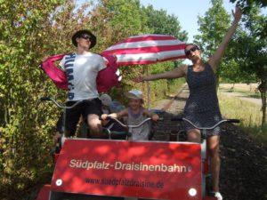 """""""Südpfalz Daisine"""" bis zu 40 km von Bornheim nach Westheim."""