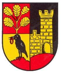Wappen Erlenbach bei Dahn in der Pfalz