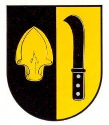 Wappen Kapellen-Drusweiler in der Pfalz