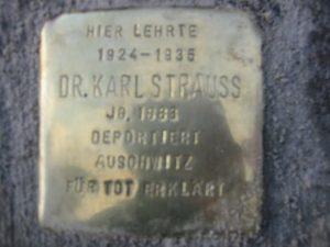 Stolpersteine Neustadt