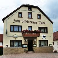 """Gasthof """"Zum Steinernen Mann"""" in Ulmet."""