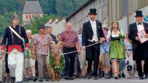 Geißbockmarsch von Lambrecht nach Deidesheim