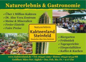 """Ausflugsziel """"Kakteenland"""" in Steinfeld in der Pfalz"""