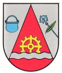 """Wappen """"Sankt Julian"""" in der Pfalz"""