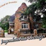 """Gästehaus """"Villa Oberhofer"""" – Jugendstilvilla in Edenkoben in der Pfalz"""