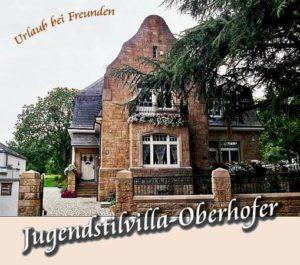 """Gästehaus """"Villa Oberhofer"""" - Jugendstilvilla in Edenkoben in der Pfalz"""