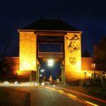 Deutsches Weintor bei Nacht - Foto Rolf Goosmann