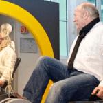 Skelettfahrrad im Dynamikum in Pirmasens