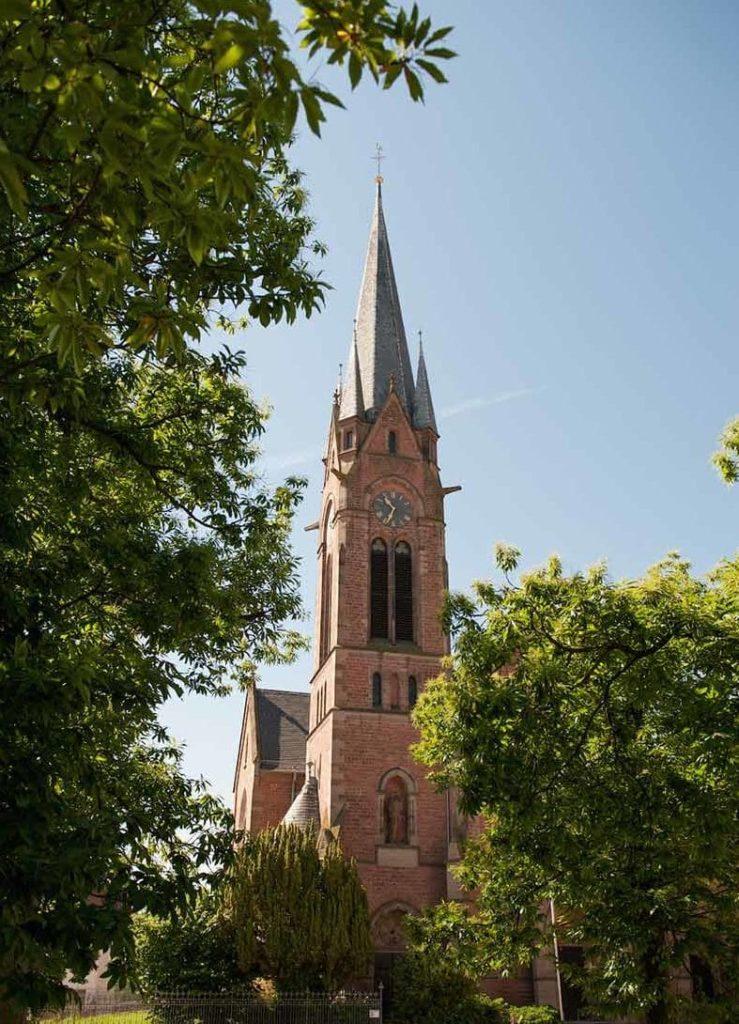 Protestantische Kirche in Eisenberg