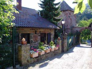 "Das Ferienhaus der ""Burgschänke an der Kropsburg"""