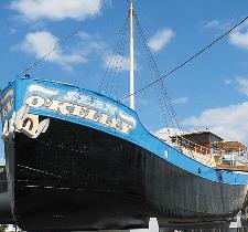 "Das ""Kelly-Hausboot"" im ""TECHNIK MUSEUM SPEYER"""