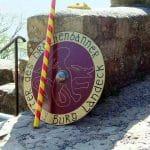 Ritterschild Burg Landeck