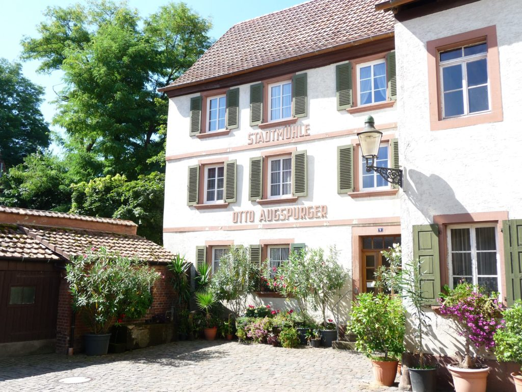 Augspurger Stadtmühle in Bad Bergzabern