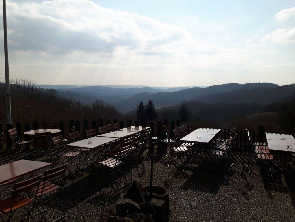 Falkensteiner Hof, Terrasse mit tollem Weitblick