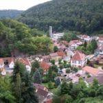 Blick von der Hardenburg auf Bad Dürkheim - Hardenburg