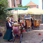 Drehorgelspieler in Gleisweiler